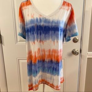 2/$15 or 3/$20- LuLaRoe perfect-T red/white/blue